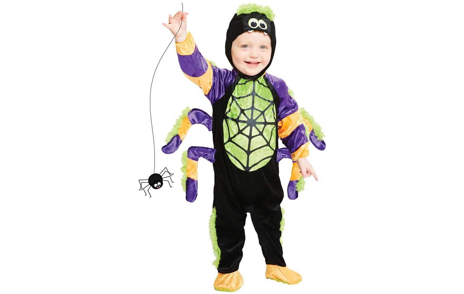 Costume d'Halloween araignée pour enfants