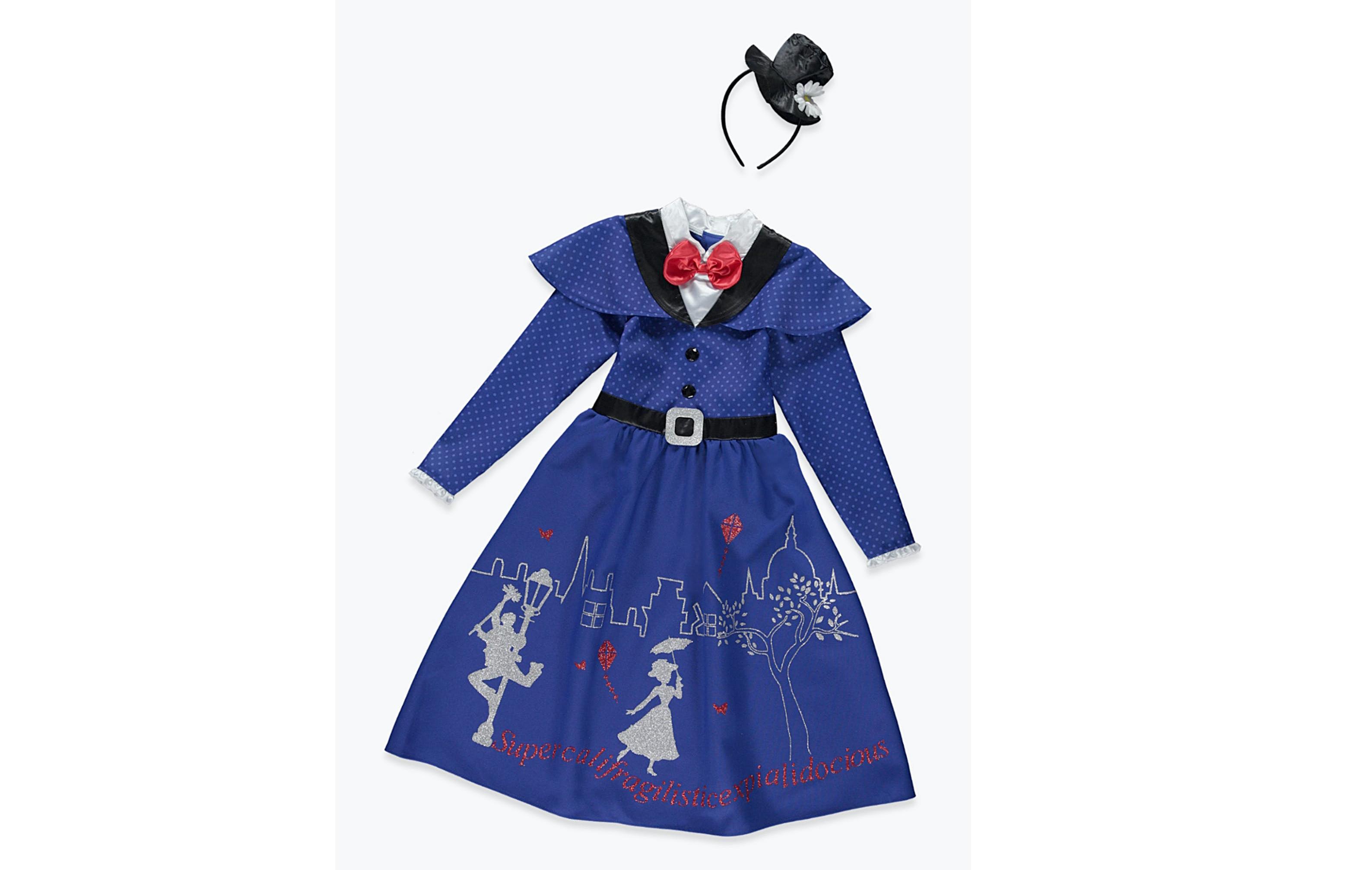 Costume d'Halloween Mary Poppins Matalan pour enfants