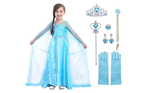 Costume d'Elsa de Frozen