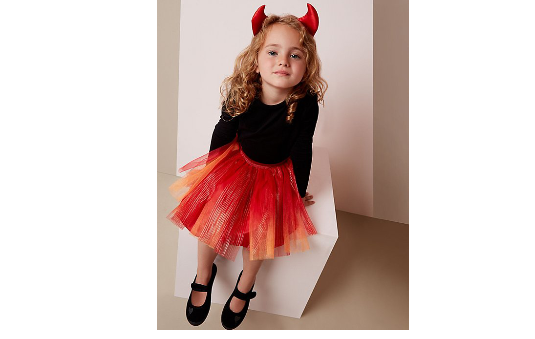 Costume de diable pour filles pour Halloween