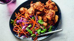 Poulet Joe Wicks avec salade asiatique