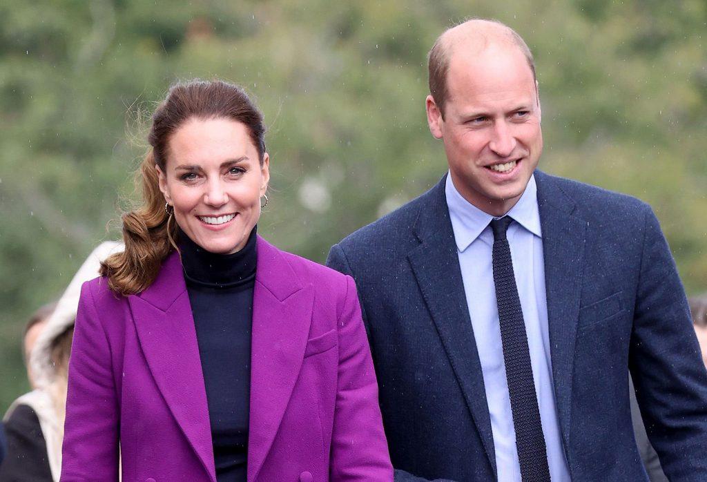 Catherine, Duchesse de Cambridge et le Prince William, Duc de Cambridge visitent le campus Magee de l'Université d'Ulster.