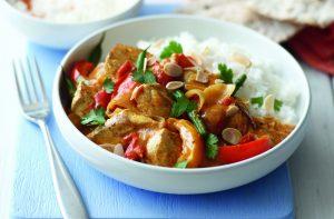 Idées de déjeuner à faible teneur en glucides avec des restes de dinde au curry