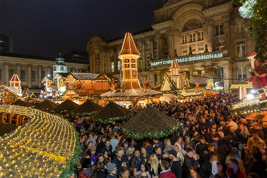 Marché de Noël de Birmingham 2021
