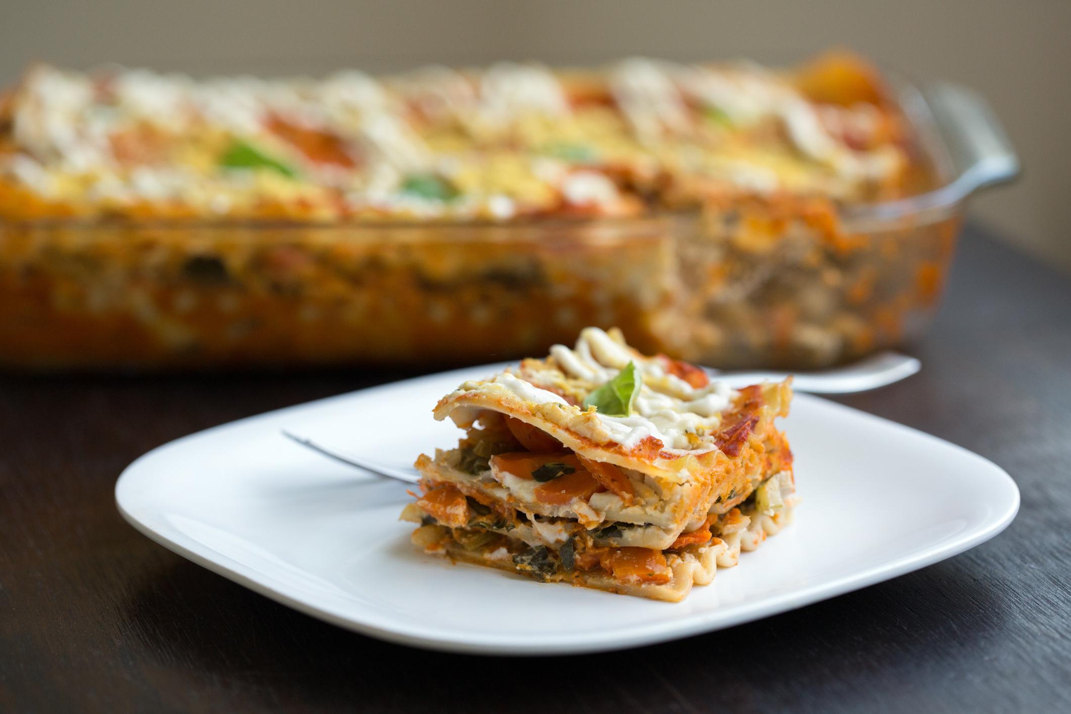 Plan Jane Lasagnes végétariennes