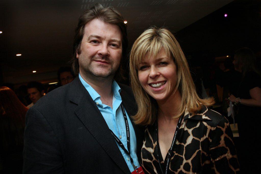 Derek Draper et Kate Garraway lors de la soirée News at Ten à l'hôtel Radisson.