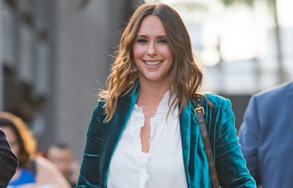 Jennifer Love Hewitt est vue au 'Jimmy Kimmel Live' le 04 septembre 2018.