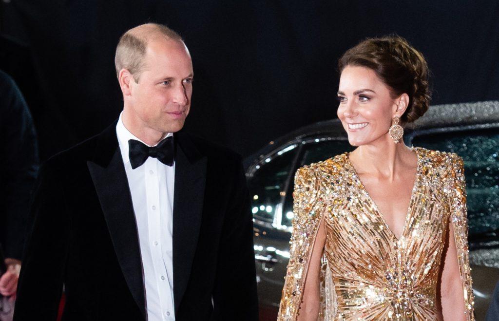 Catherine, Duchesse de Cambridge et le Prince William, Duc de Cambridge assistent au