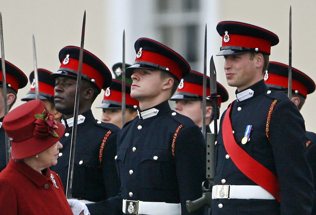 Le Prince William et la Reine