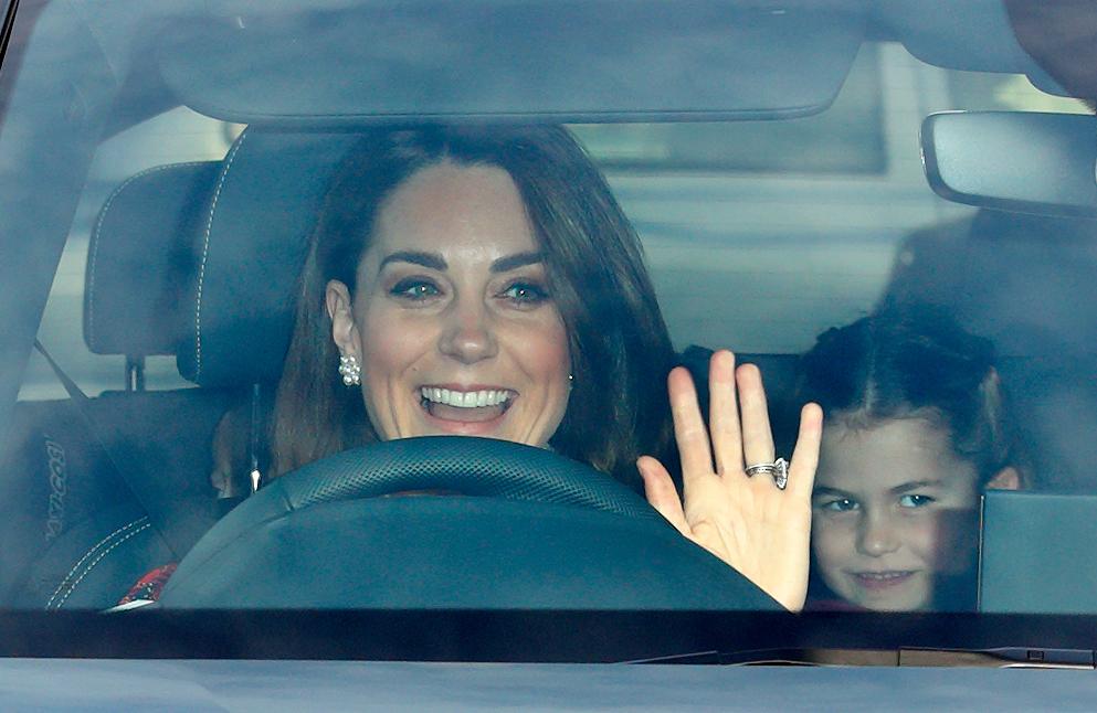 Kate Middleton et la Princesse Charlotte
