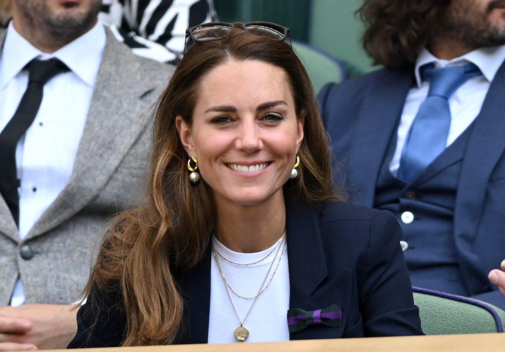 Catherine, duchesse de Cambridge, assiste aux championnats de tennis de Wimbledon.