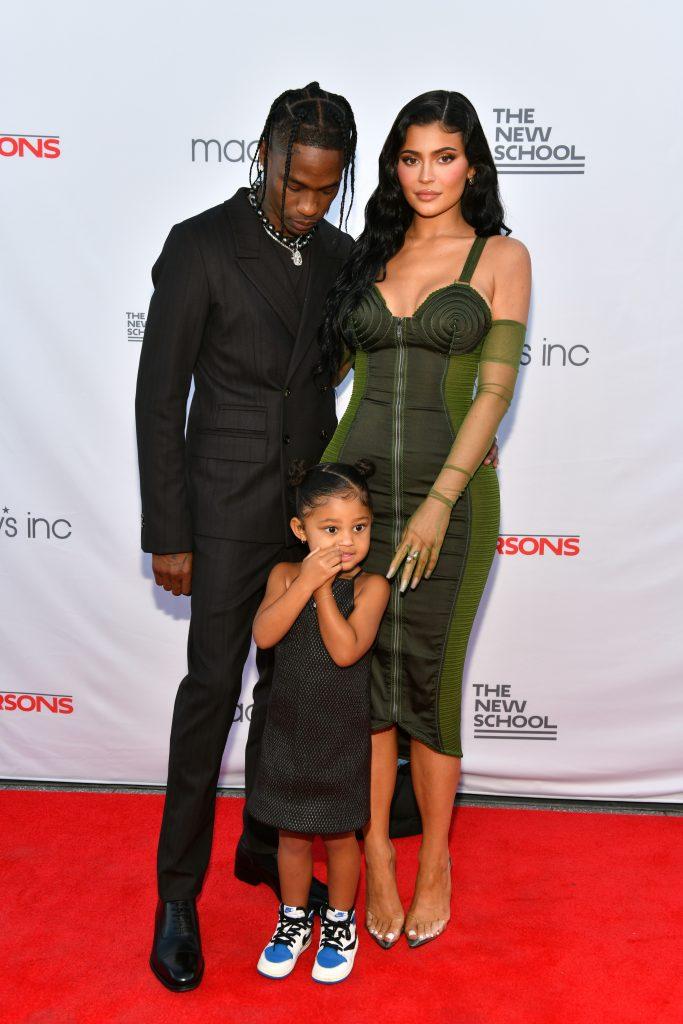 Kylie Jenner, Travis Scott et leur fille Stormi Webster