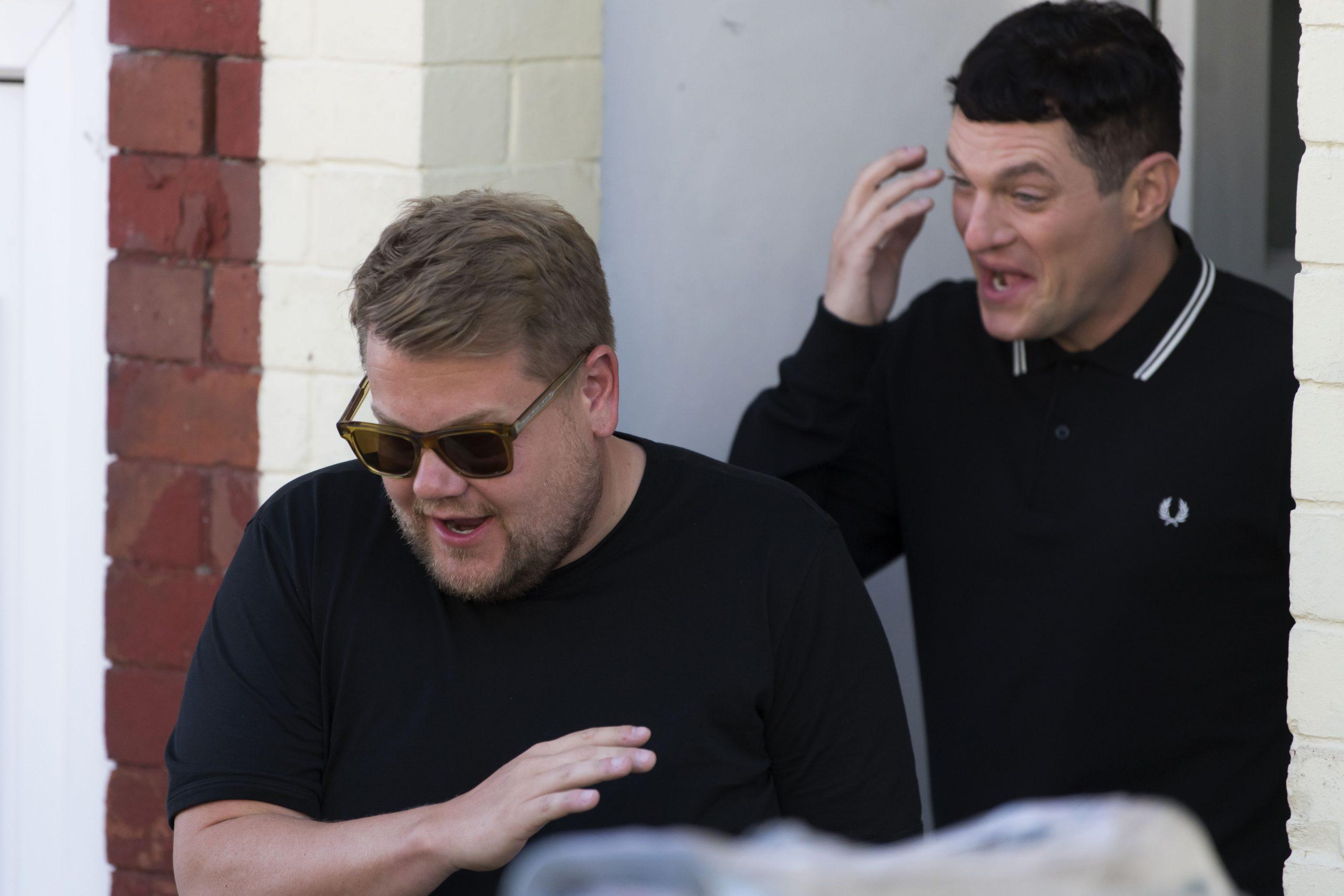 James Corden et Matthew Horne