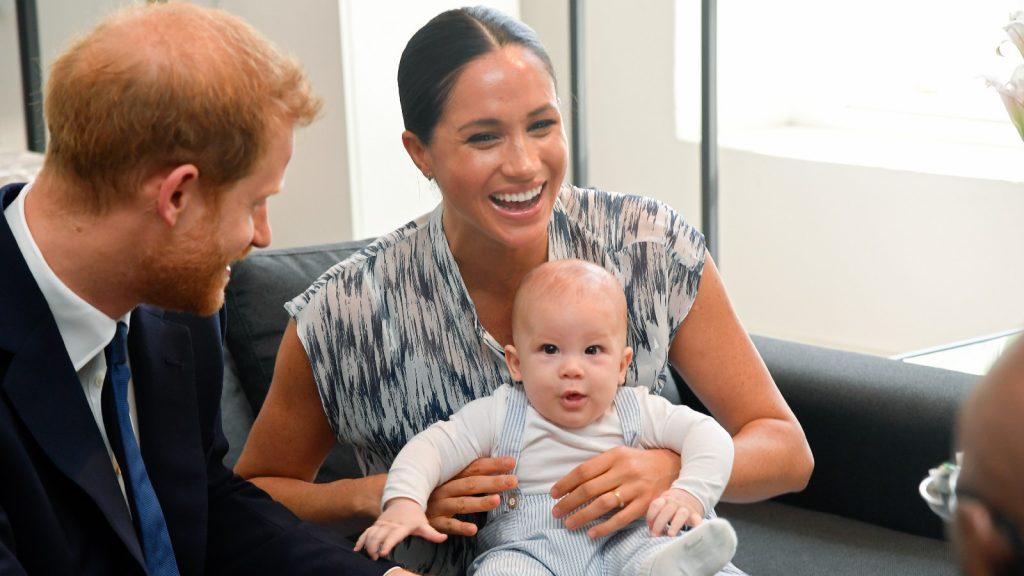 Meghan Markle et le Prince Harry et Archie