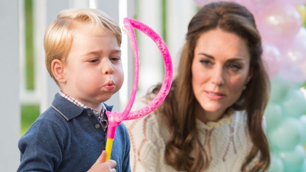 Le Prince George et Kate Middleton