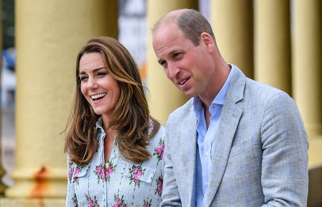 Le Prince William, Duc de Cambridge et Catherine, Duchesse de Cambridge sur la promenade.
