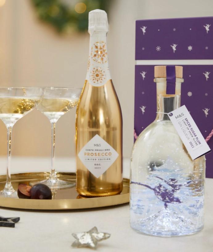 Coffret cadeau de Gin Liqueur & Prosecco