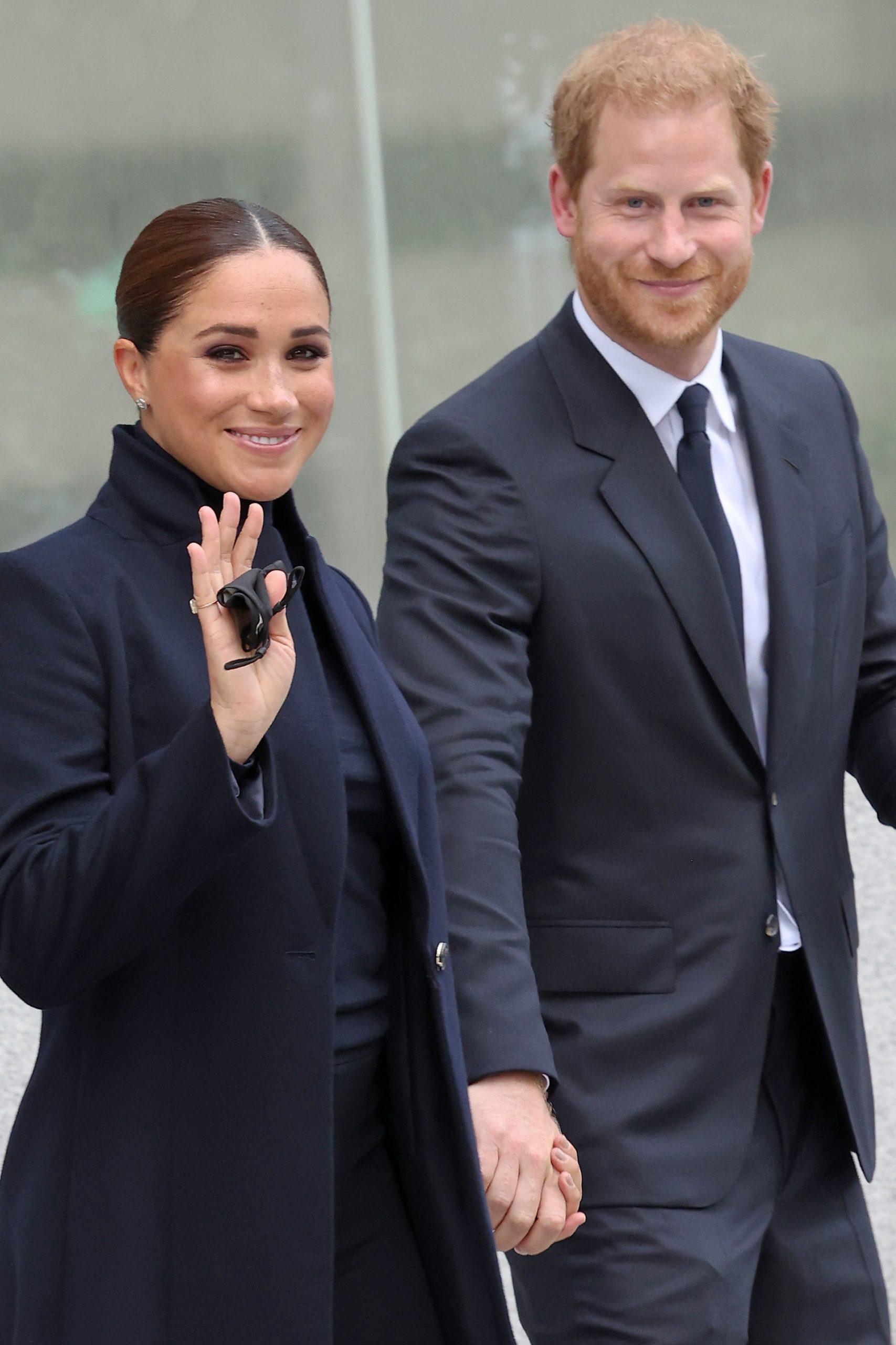 Meghan Markle et le Prince Harry à New York