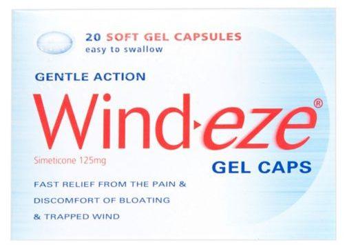 Les tablettes Wind-eze, idéales pour soigner le vent emprisonné