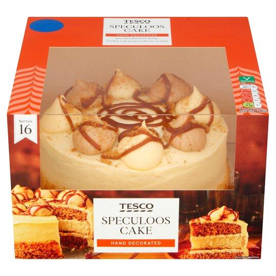 Gâteau biscoff Tesco