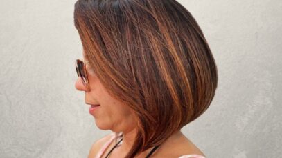 Fall hair colors for women over 40