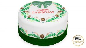 meilleur gâteau de Noël Biscuiteers