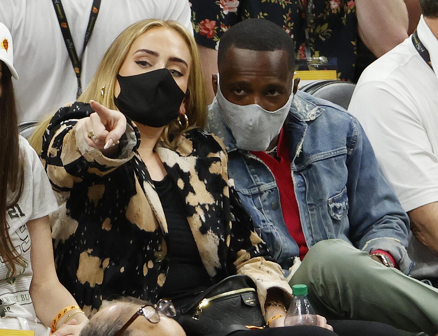 Adele et son petit ami Rich Paul