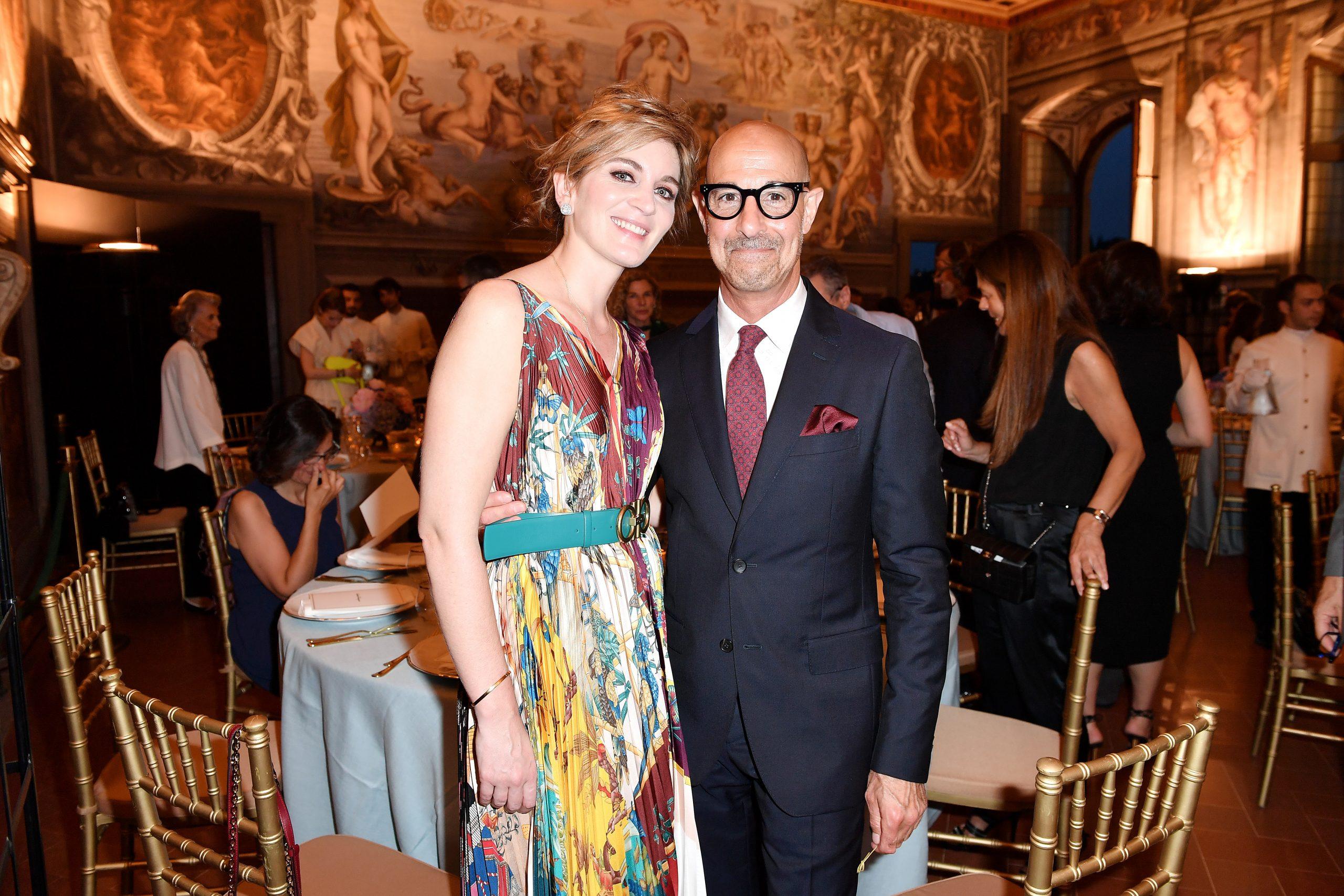 Stanley Tucci et sa femme Felicity Blunt