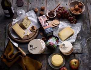 Panier de fromages de l'East Anglia