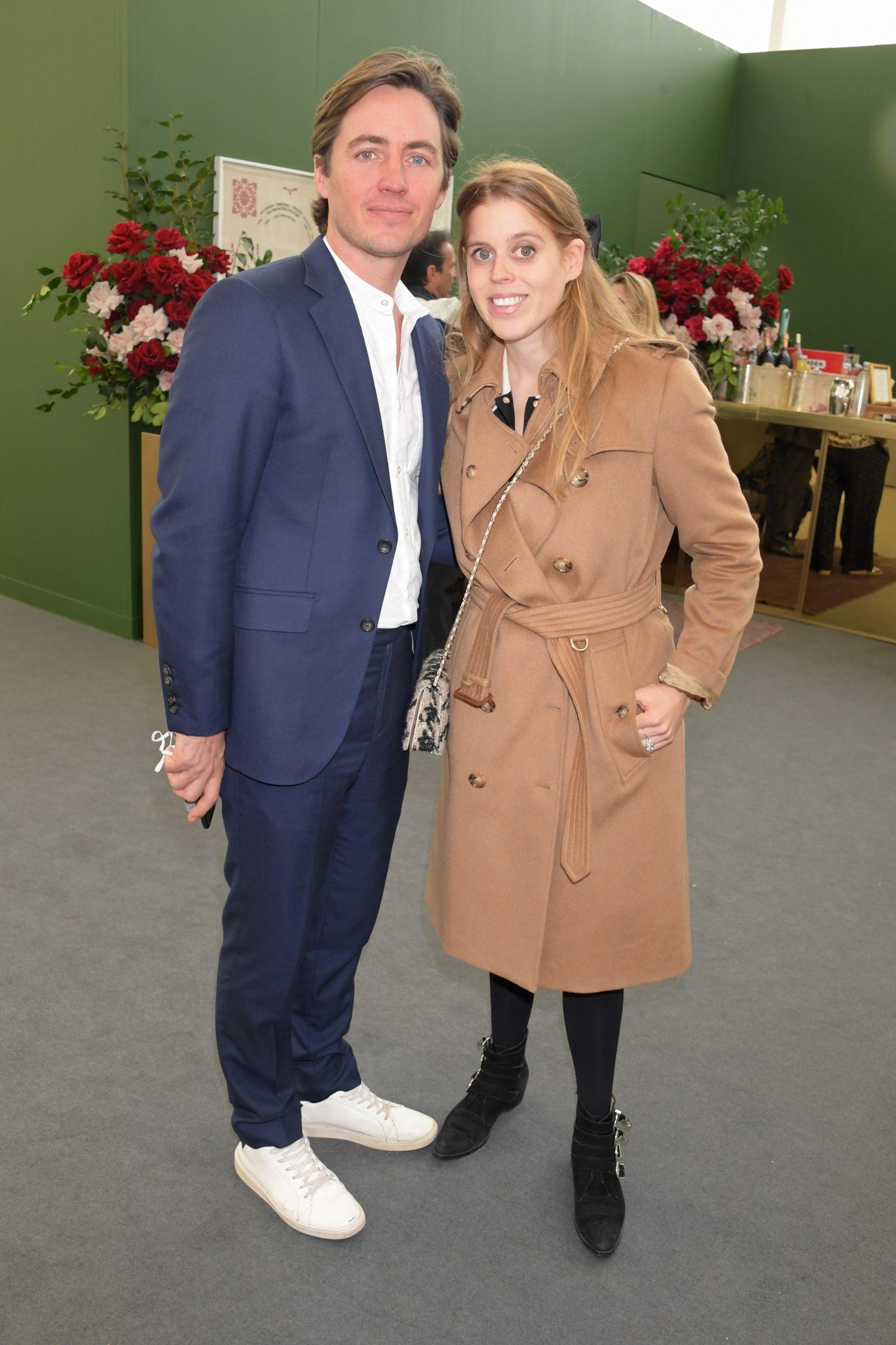 La princesse Beatrice et son mari Edoardo Mapelli Mozzi.