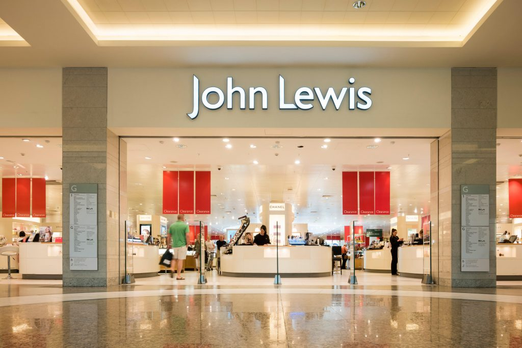 Magasin John Lewis, Royaume-Uni