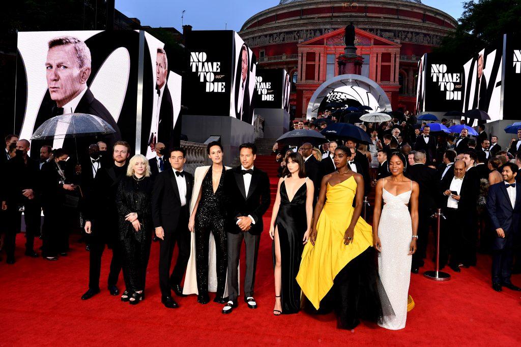 James Bon No Time to Die cast