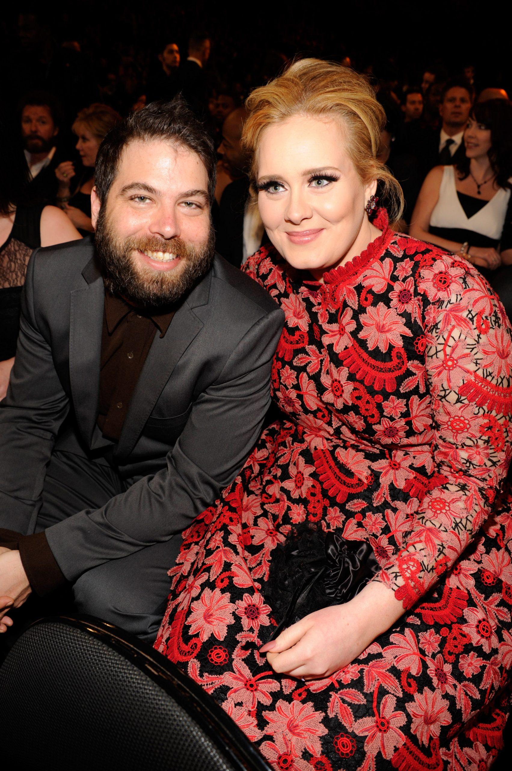 Adele et son ex-mari Simon Konecki